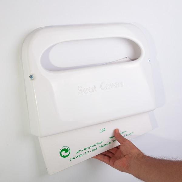 alfa img showing disposable toilet seat covers