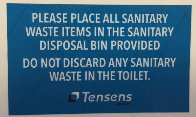 Terracyclic Sanitary Bin Medium 13l Bins Sanitary