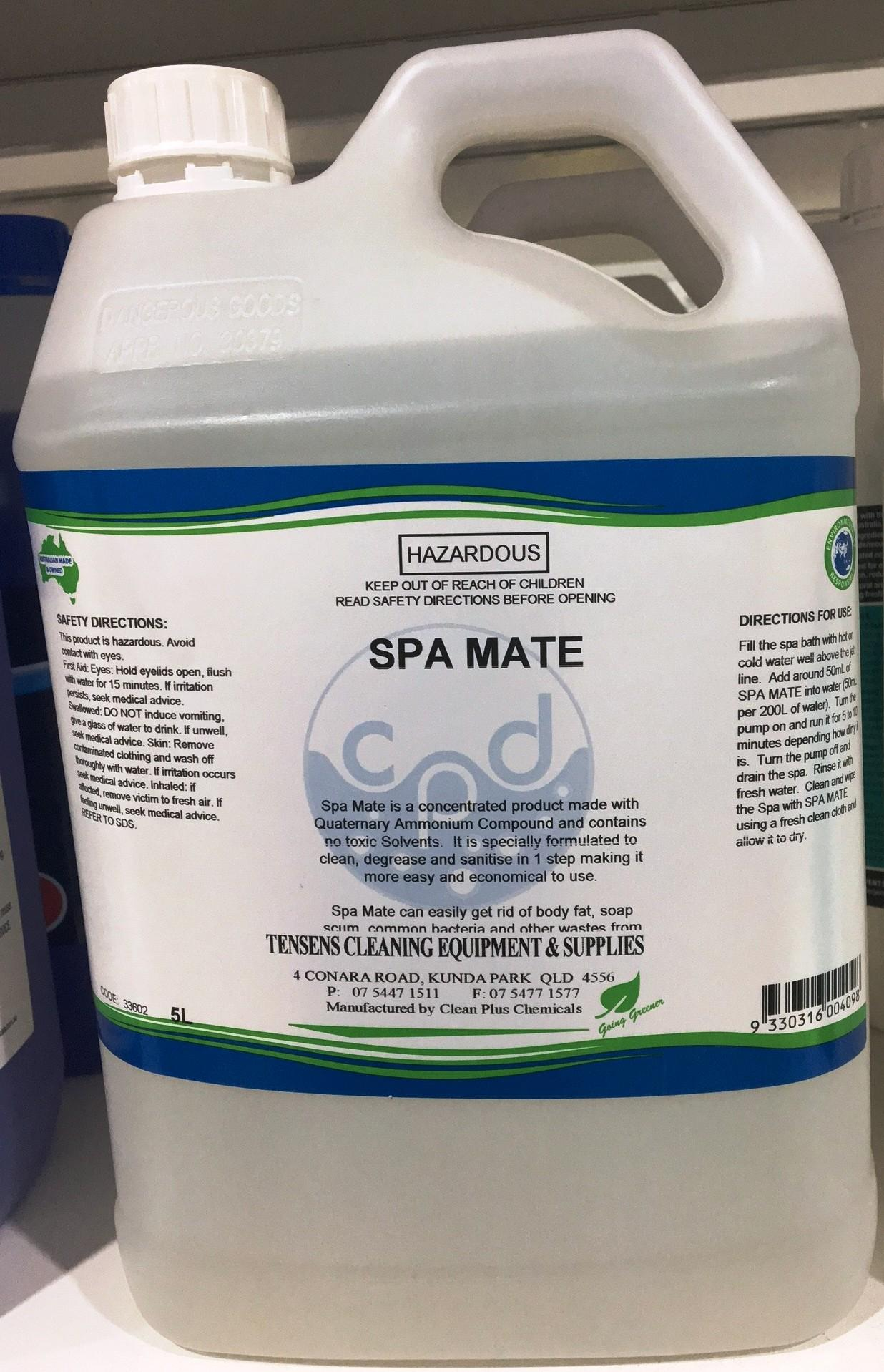 Tensens Spa Mate 5L - CHEMICAL, KITCHEN CLEANERS - Product Detail ...