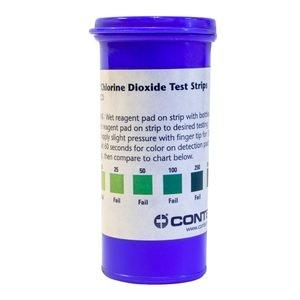 Contec Chlorine Dioxide Test Strips 25pk