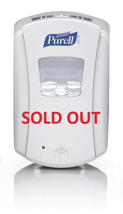Purell LTX7 Touch Free Dispenser White