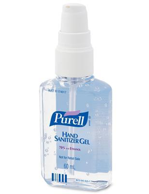 Purell Hand Sanitiser Pump Bottle 60ml