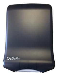 ESG Interleaved Hand Towel Disp Black