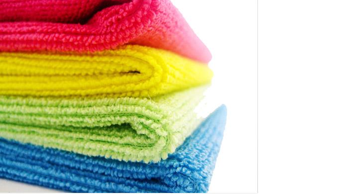 Techno Clean Microfibre Cloths Blue Janitorial Supplies