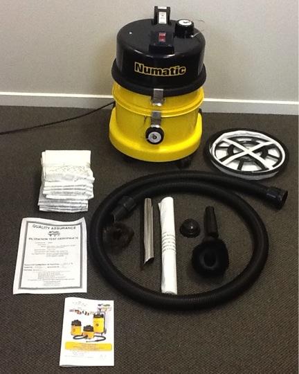 Car Carpet Cleaning Sunshine Coast: Asbestos Vacuum Hazardous 9L- Numatic