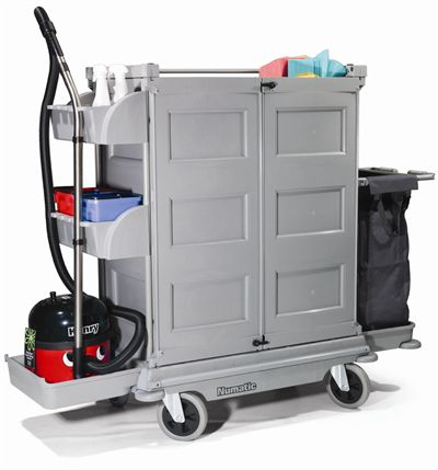 Housekeeping Trolley Numatic Nkt22hf Trolleys