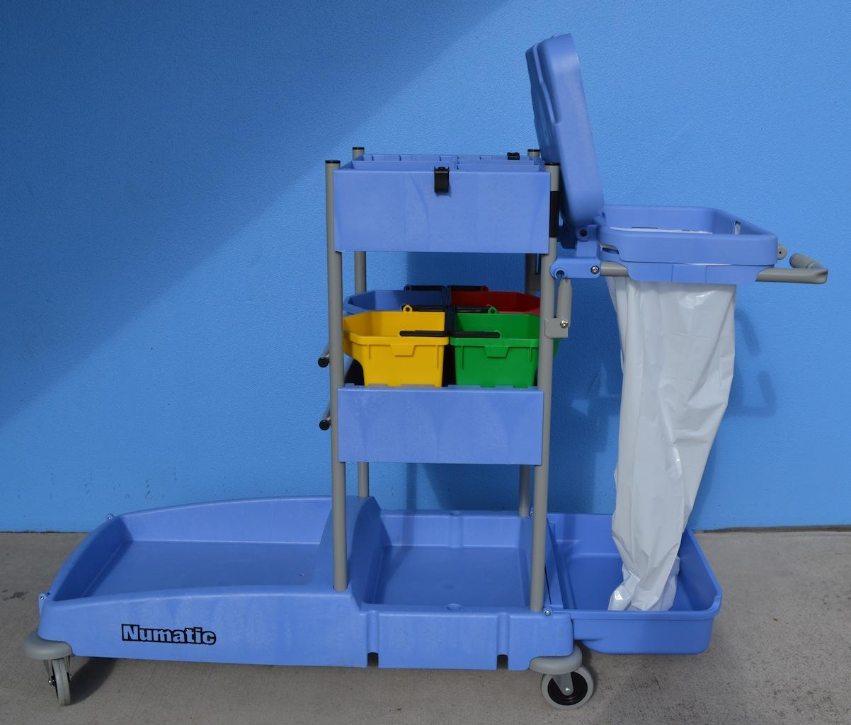 Cleaners Trolley Large Numatic Vcn1604 Trolleys