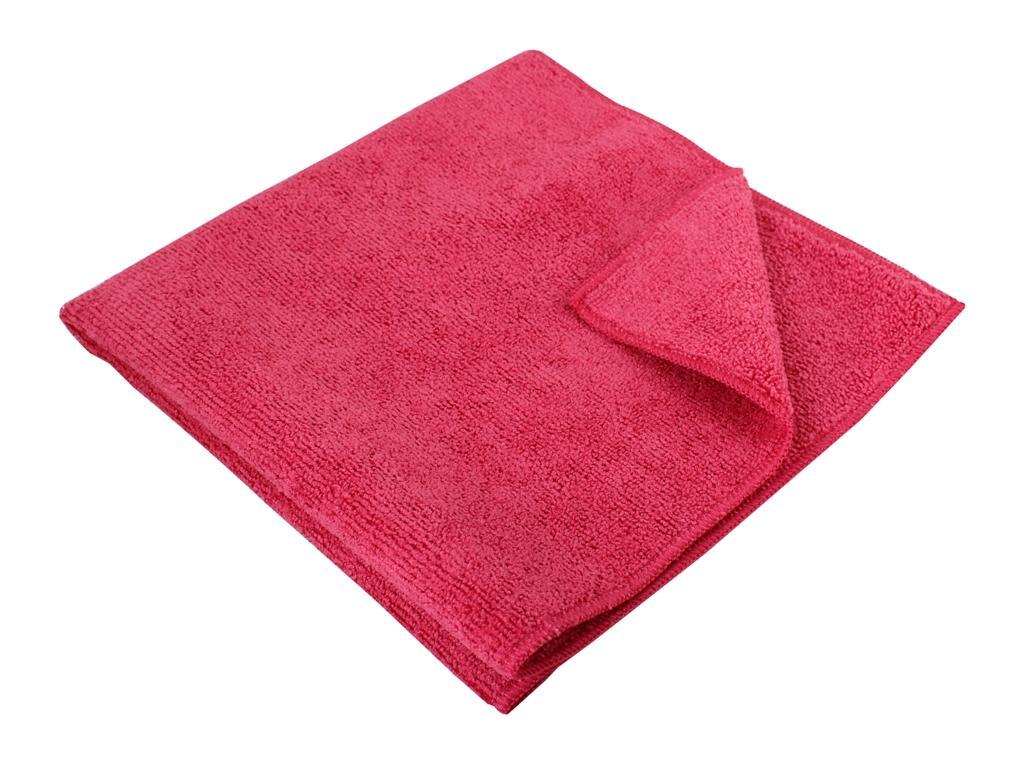 Microfibre Cloth Thick 40 x 40cm Red