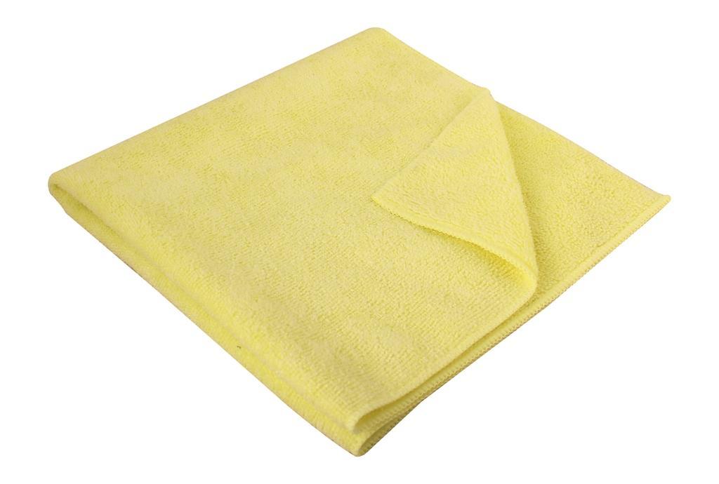 Microfibre Cloth Thick 40 x 40cm Yellow