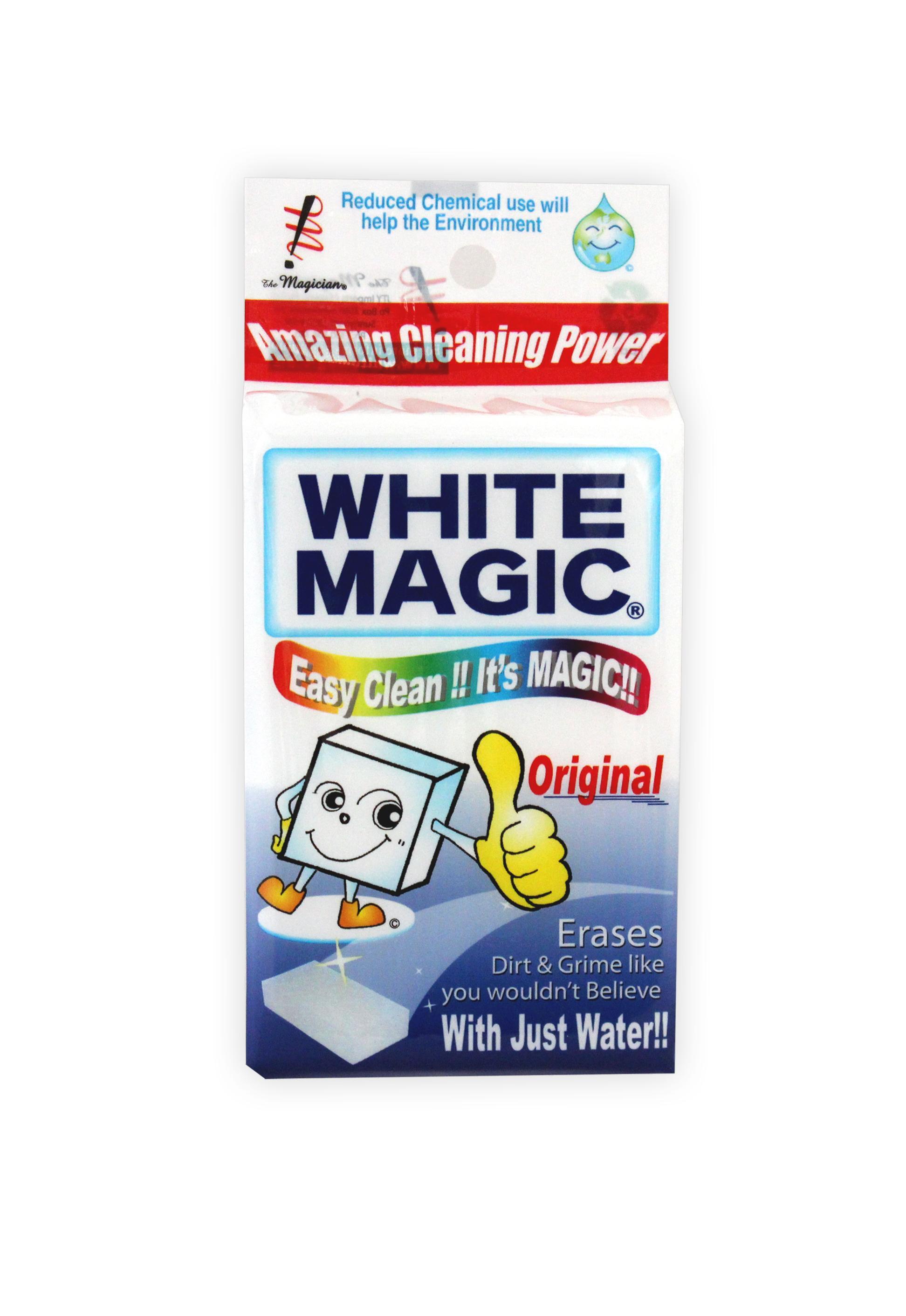 White Magic Eraser Original 11 X 7 X 4cm Wipes White