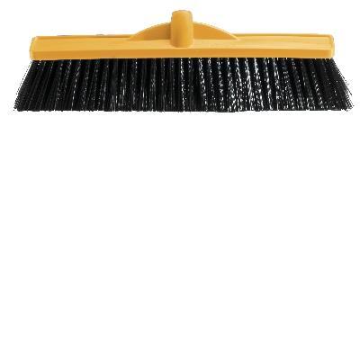 Oates Broom Head Medium Stiff Green 45cm