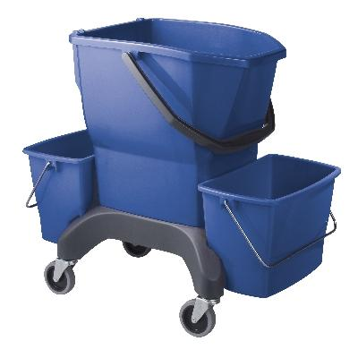 Oates Ezy Ergo Mop Bucket 25L Blue