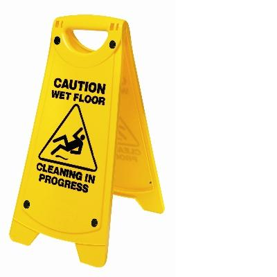 Wet Floor Sign Caution Safety A Frame Cl Janitorial