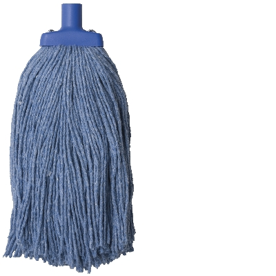 Oates Duraclean Mop Head 400g Blue Janitorial Supplies