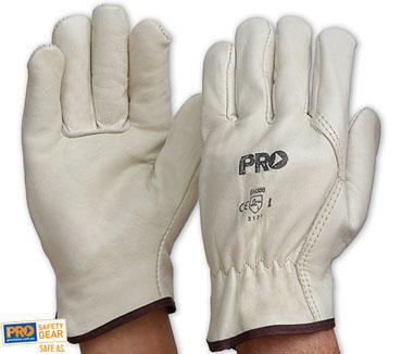Riggamate Cow Grain Premium Glove Large