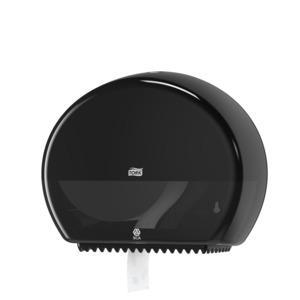 Tork Mini Jumbo Toilet Roll Dispenser BK