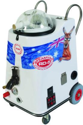 steamvac rd5 portable carpet cleaner