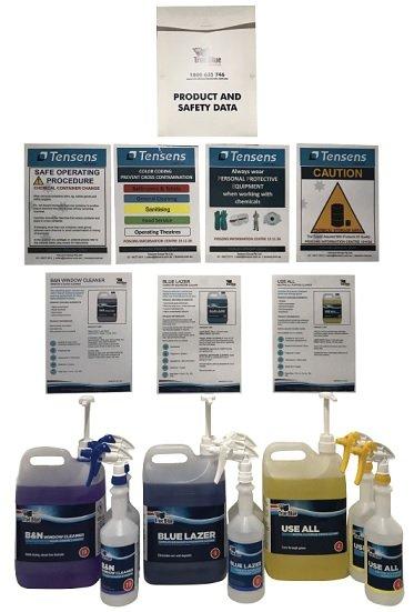 Chemical Starter Kit True Blue 5L