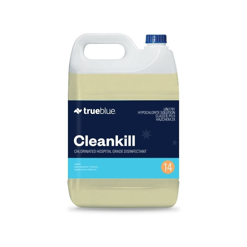 True Blue Cleankill Cleaner Sanitiser 5L