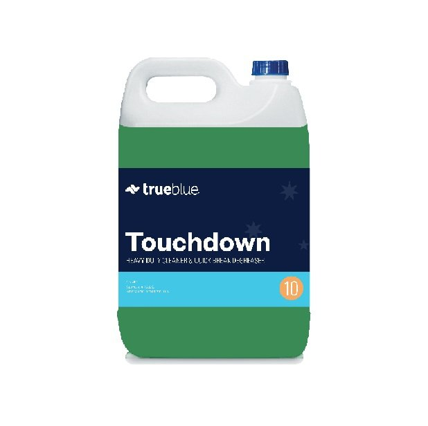 True Blue Touch Down Quick Degreaser 5l Chemical Heavy
