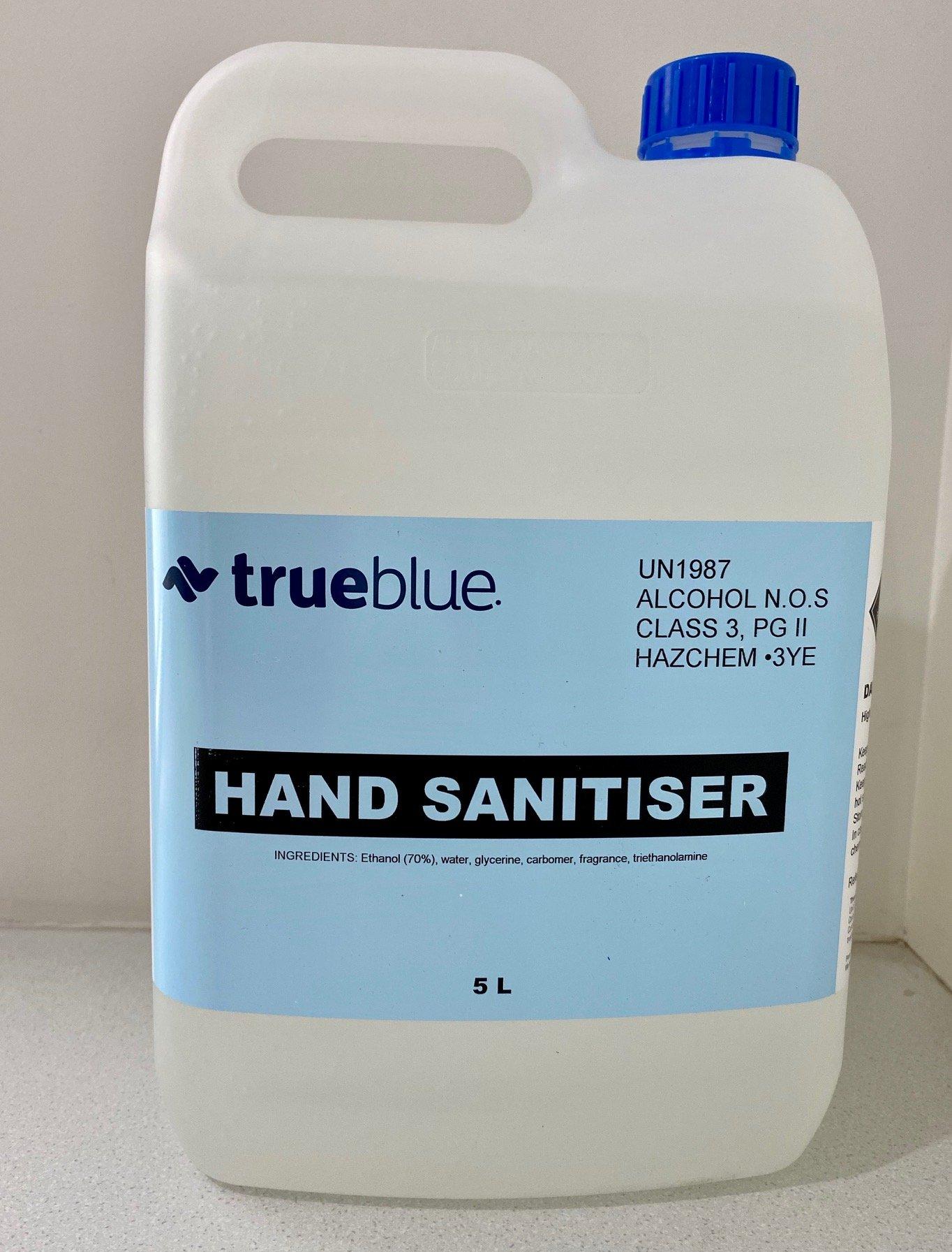 Verla Hand Sanitiser Gel 5L