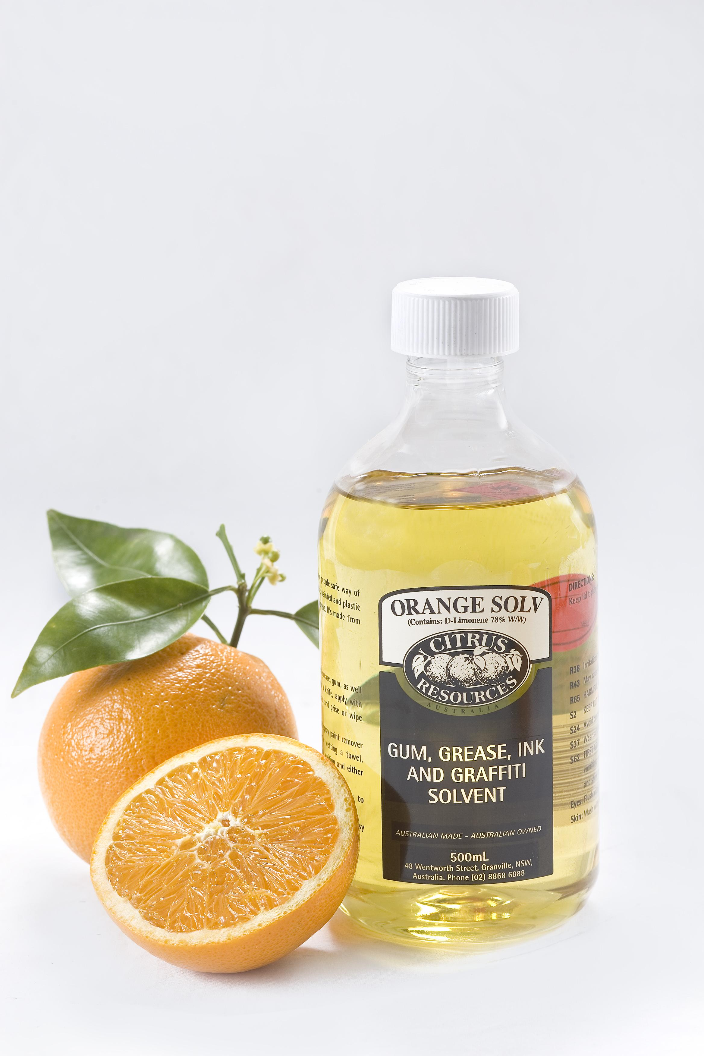 Citrus Resources Orange Solv 5l Chemical Citrus