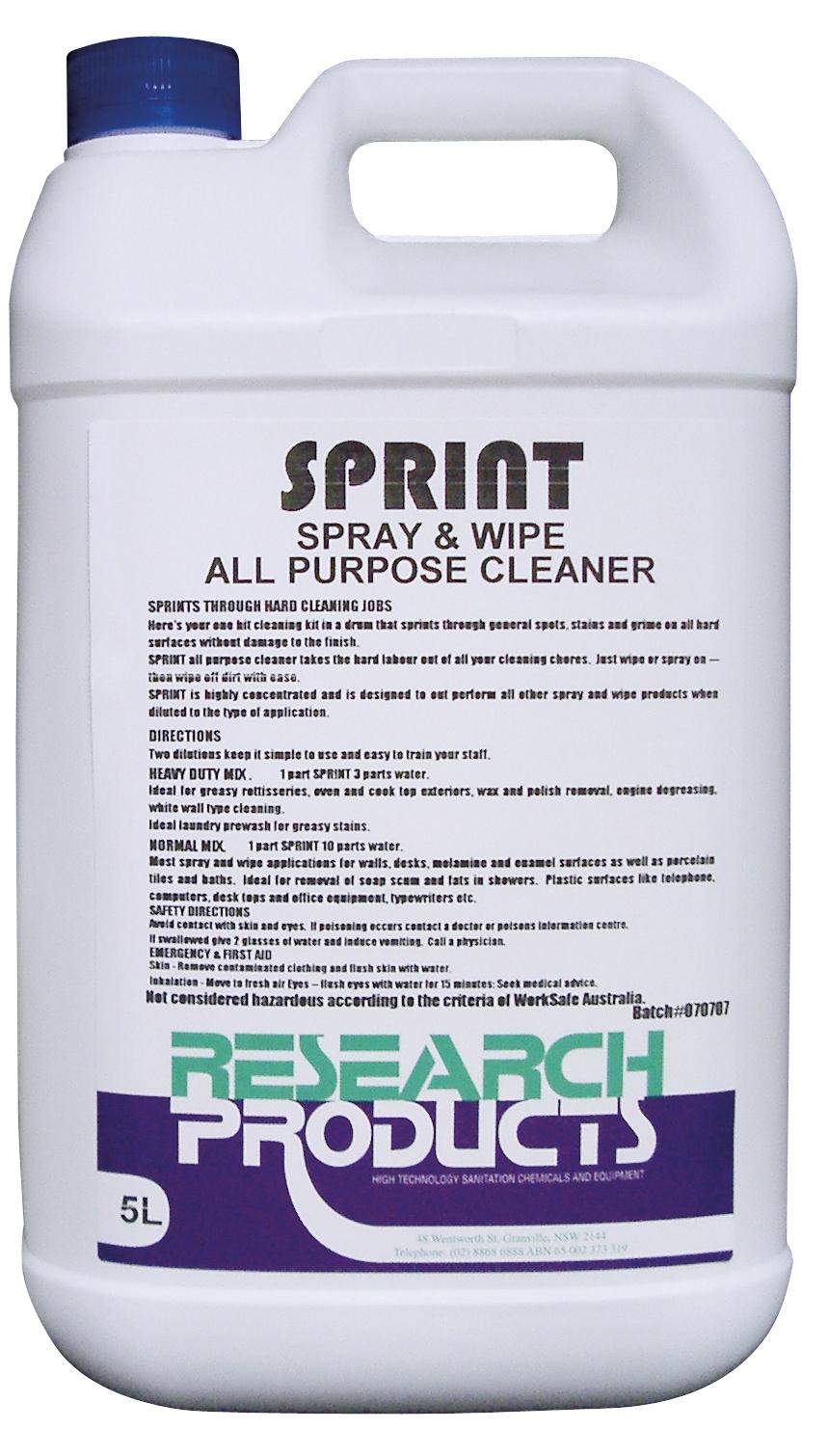 Research Sprint Spray&Wipe 5L