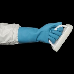 Bastion Silverlined Gloves Blue Small - Click for more info