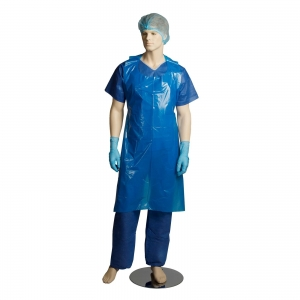 Bastion Apron Blue - Tear Off Disposable - Click for more info