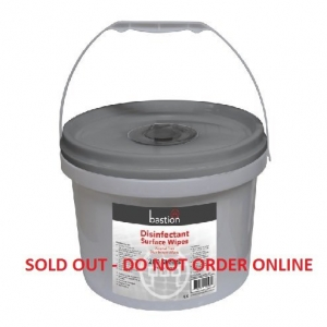 Bastion Disinfectant Surface Wipes Tub - Click for more info