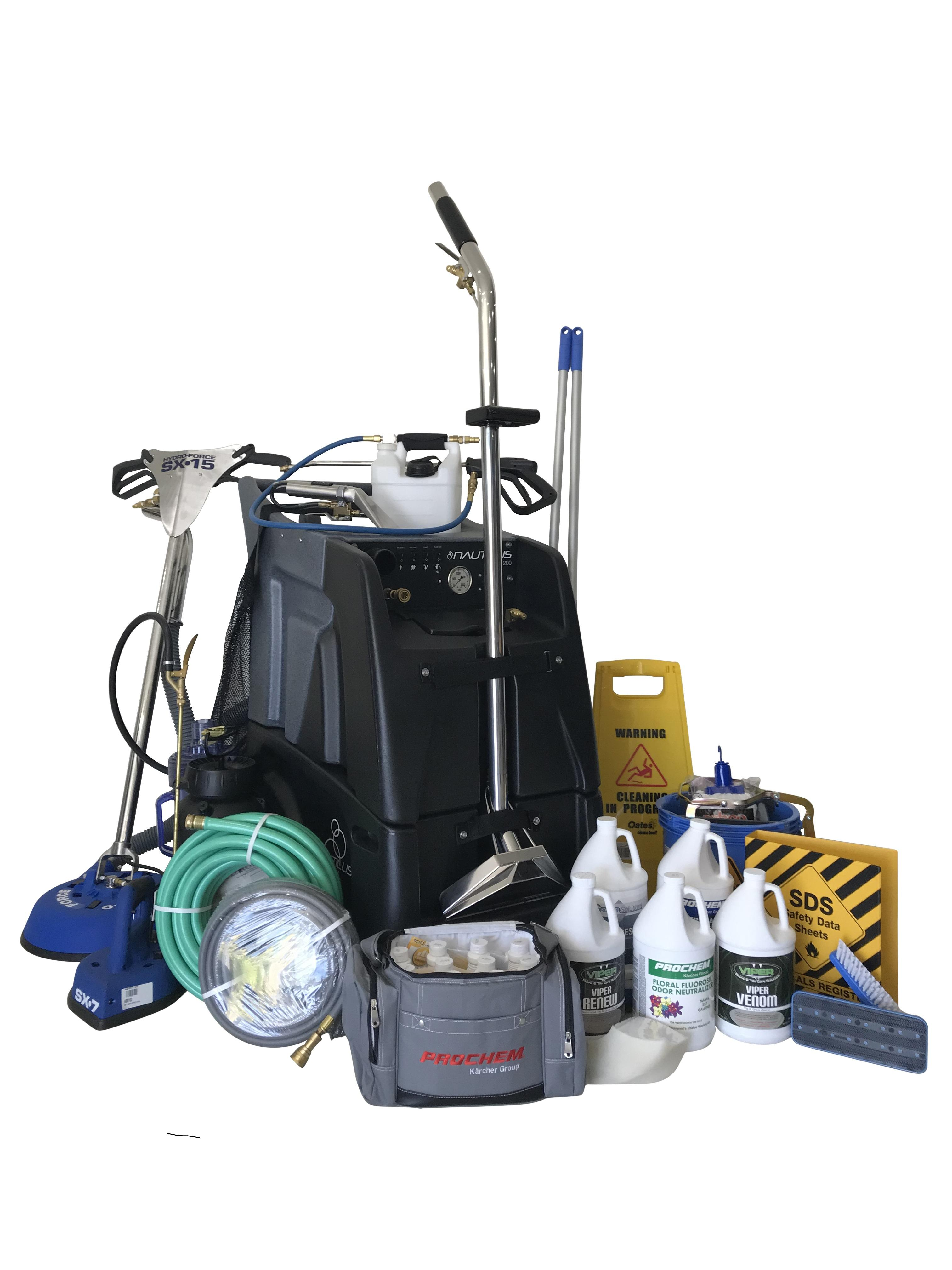 1200psi Carpet Cleaning and Tile Kit - Click for more info