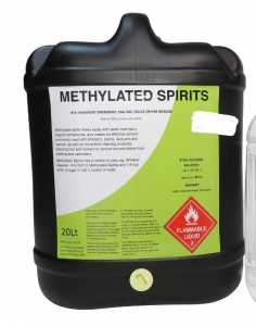 Tensens Methylated Spirits 20L - Click for more info