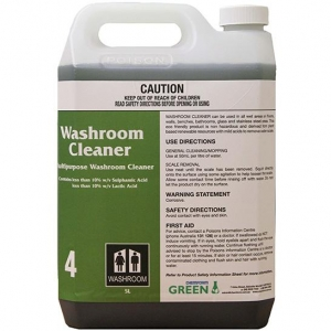 Chemform #4 Green Washroom Cleaner 5L - Click for more info