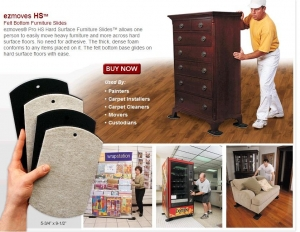 Ez Movers Hard Surface 4 pk - Click for more info