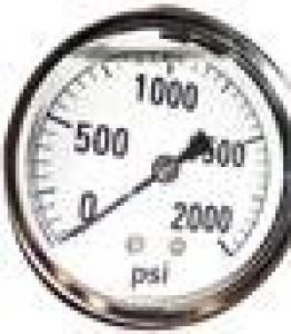 Nautilus Pressure Gauge 2000psi - Click for more info
