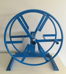 Solution & Garden Hose Reel Floor Mountd - Click for more info