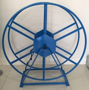 Tensens Hose Reel 60m Slim line Blue - Click for more info