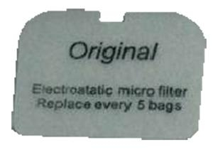 Nilfisk GD5 GD Exhaust Filter 10-3pk - Click for more info