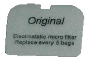 Nilfisk GD5 GD Exhaust Filter 10-3pk