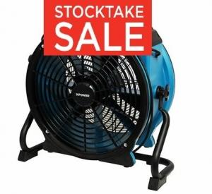 X-PowerAxial Air Mover 3 Speed w/ Timer