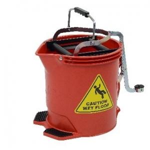 Enduro Wringer Mop Bucket Red 28570