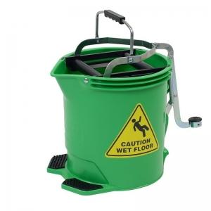Enduro Wringer Mop Bucket Green 28580