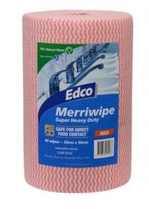 Edco Merriwipe 90 sheets Red 56102