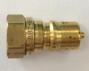 EZ 1/4 Brass NPT Male Quick Release - Click for more info