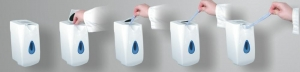 Wall Mounted Hand Wet Wipes Dispenser
