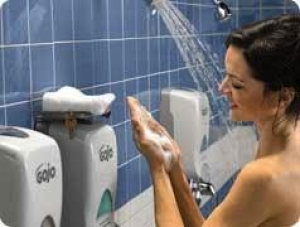 Gojo FMX Manual Foam Soap Dispenser Wht