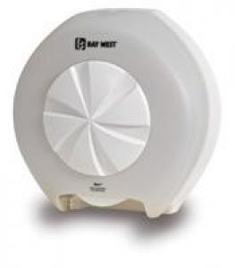 Opticore Toilet Roll Dispenser White - Click for more info
