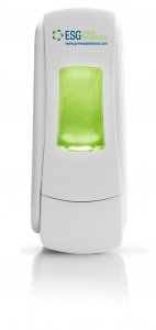 ESG ADX7 Manual Soap Dispenser White - Click for more info