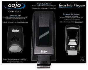 Gojo Blackboard System - Click for more info