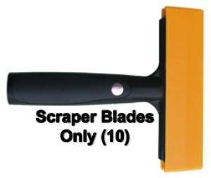 Ettore Pro Scraper Blades S/S 15cm 10pk